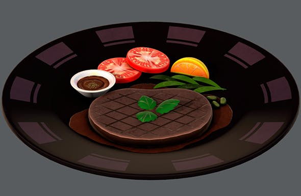 Steak 01 - 3DOcean Item for Sale