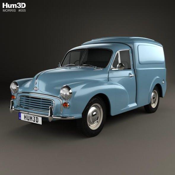 Morris Minor Van 1955 - 3DOcean Item for Sale
