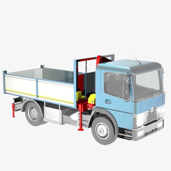 Autocarro medio - 3DOcean Item for Sale