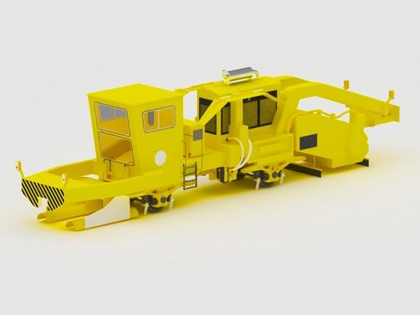 Ballast Regulating Machine PBR-400 - 3DOcean Item for Sale
