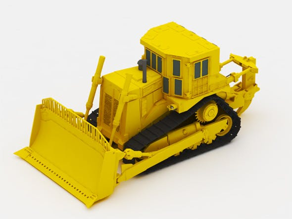 Bulldozer - 3DOcean Item for Sale
