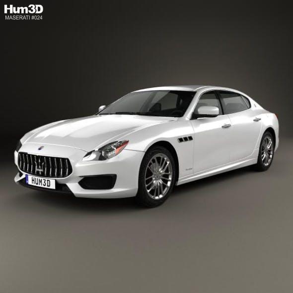 Maserati Quattroporte GTS Gran Sport 2017