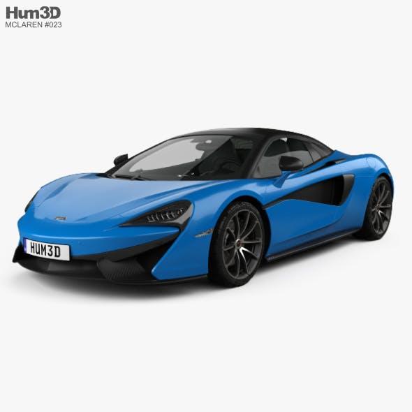 McLaren 570S Spider 2018 - 3DOcean Item for Sale