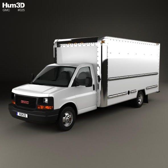 GMC Savana Box Truck 2012 - 3DOcean Item for Sale