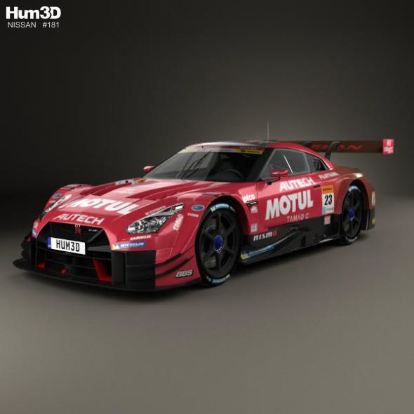 Nissan GT-R GT500 Motul 2017 - 3DOcean Item for Sale