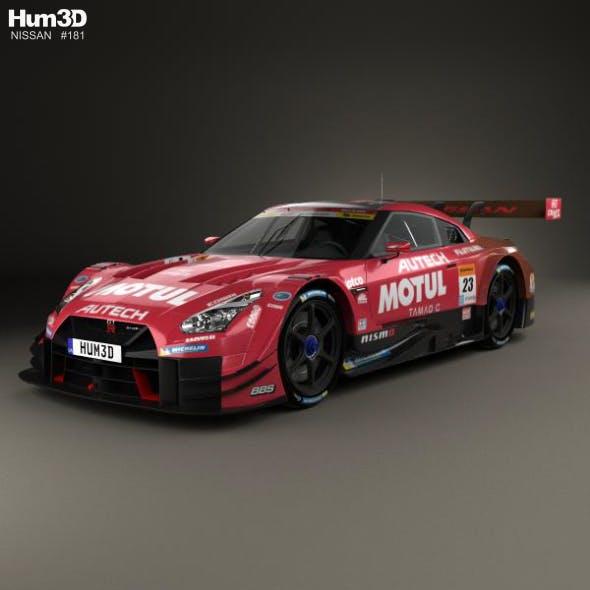 Nissan GT-R GT500 Motul 2017