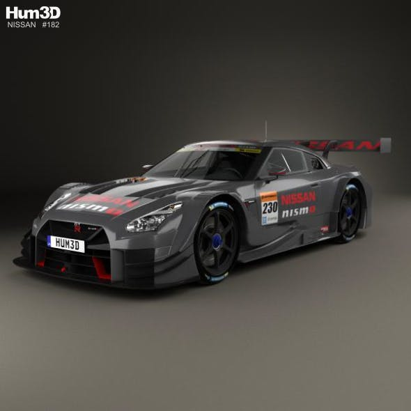 Nissan GT-R GT500 Nismo 2017 - 3DOcean Item for Sale