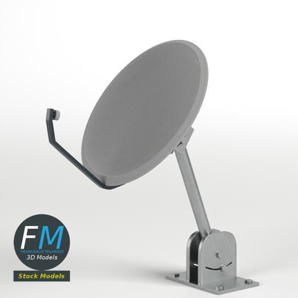 Satellite dish - 3DOcean Item for Sale