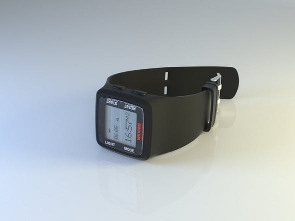sports hand watch - 3DOcean Item for Sale