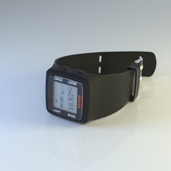 sports hand watch