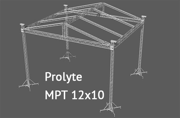 Prolyte MPT 12x10 roof system - 3DOcean Item for Sale