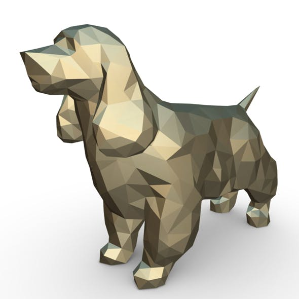 Cocker Spaniel figure