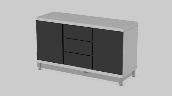 Cupboard Modern - 3DOcean Item for Sale