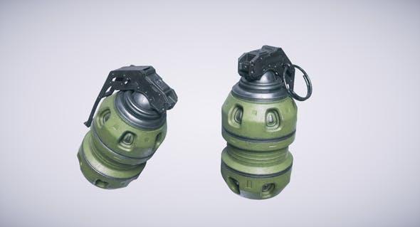 Sci Fi Grenade - 3DOcean Item for Sale