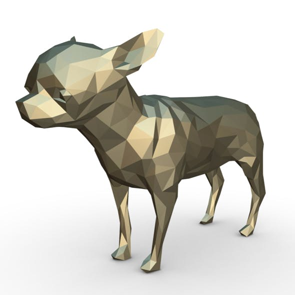 Chihuahua figure 2 - 3DOcean Item for Sale
