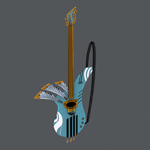 Rock Gitar - 3DOcean Item for Sale