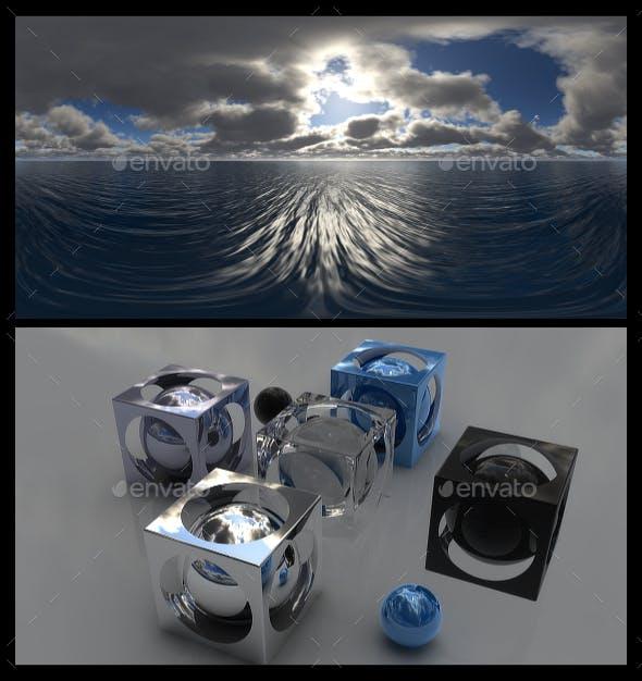 Cloudy Ocean Day 8 - HDRI - 3DOcean Item for Sale