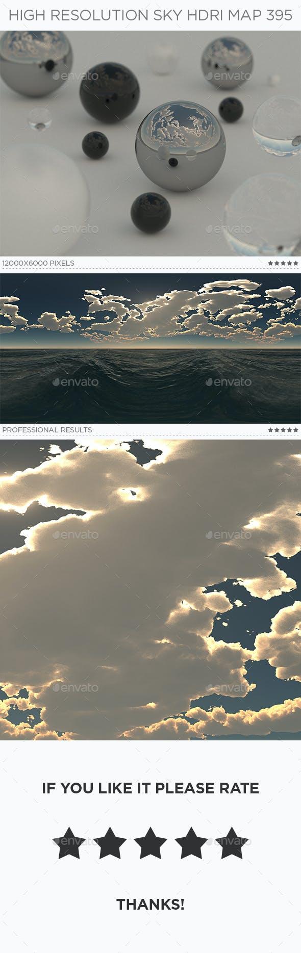 High Resolution Sky HDRi Map 395 - 3DOcean Item for Sale