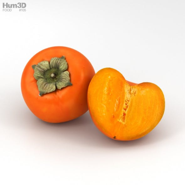 Persimmon - 3DOcean Item for Sale