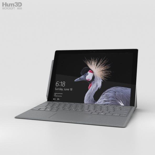 Microsoft Surface Pro (2017) Platinum - 3DOcean Item for Sale