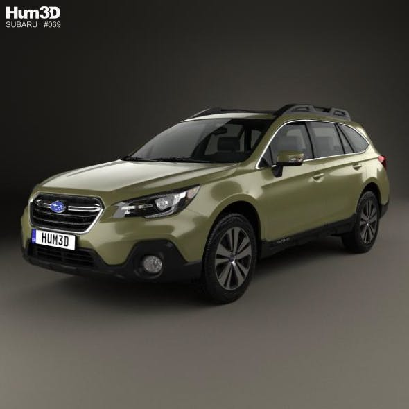 Subaru Outback US-spec 2017 - 3DOcean Item for Sale