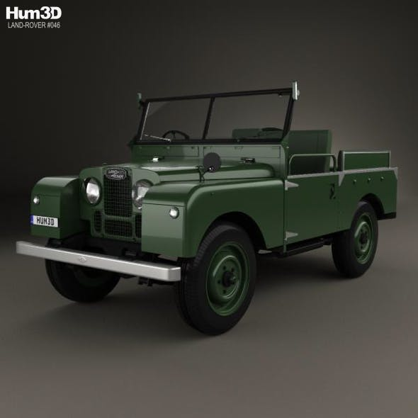 Land Rover Series I Churchill 1954 - 3DOcean Item for Sale