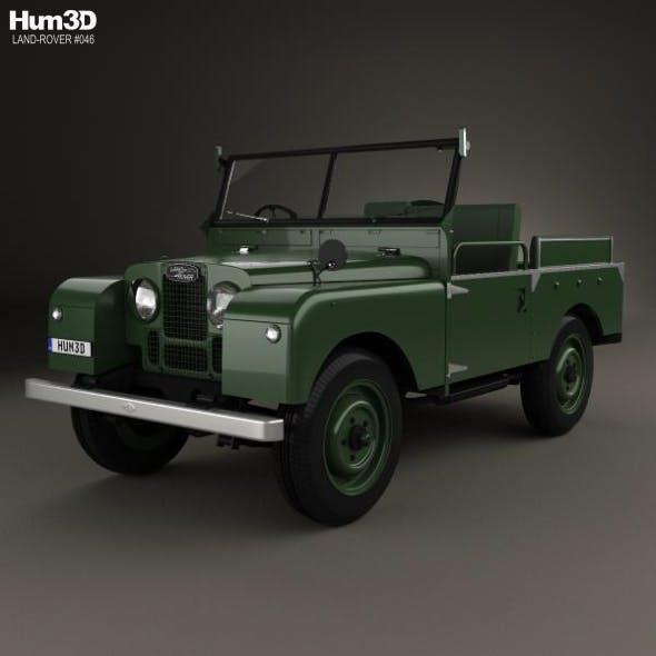 Land Rover Series I Churchill 1954