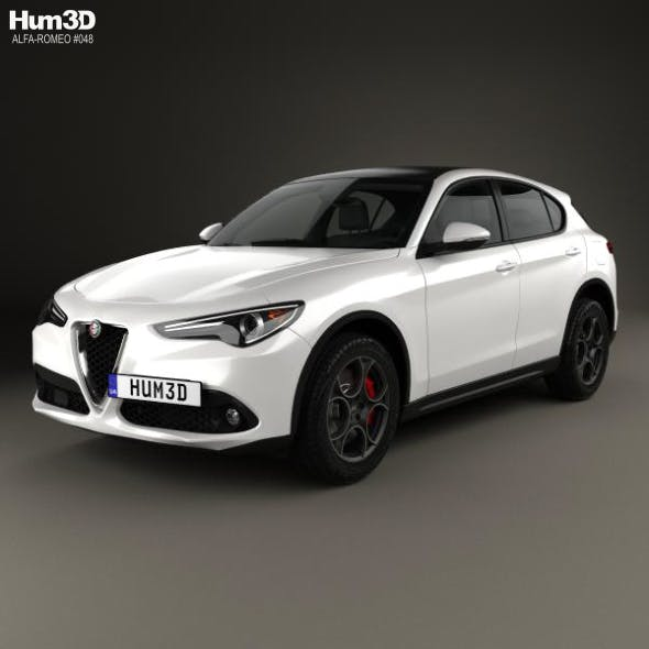Alfa Romeo Stelvio Q4 2017 - 3DOcean Item for Sale