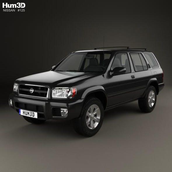 Nissan Pathfinder 2002 - 3DOcean Item for Sale