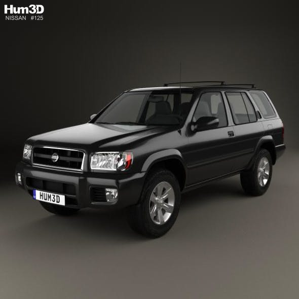 nissan pathfinder 2002 by humster3d 3docean nissan pathfinder 2002 by humster3d