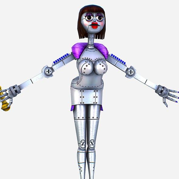 Silver Musical Robot Drone - Babe G1