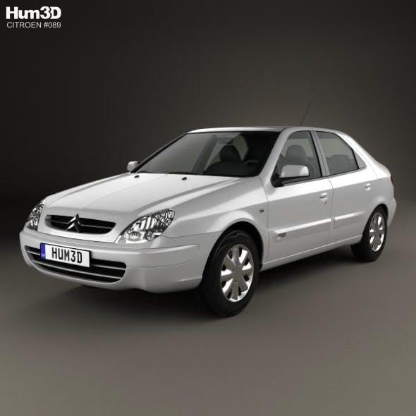 Citroen Xsara 5-door hatchback 2000 - 3DOcean Item for Sale