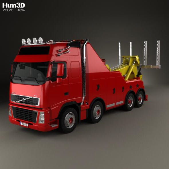 Volvo FH Tow Truck 2008 - 3DOcean Item for Sale