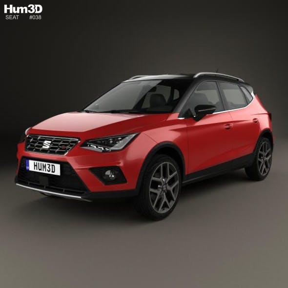 Seat Arona FR 2017 - 3DOcean Item for Sale