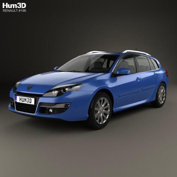 Renault Laguna grandtour 2010 - 3DOcean Item for Sale