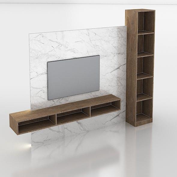 Tivi cabinet - 3DOcean Item for Sale
