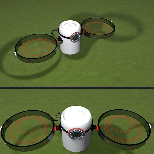 Tharmal Drone 3d Model