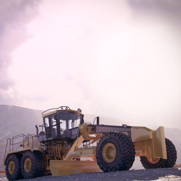 Motor Mining Grader Caterpillar 16M