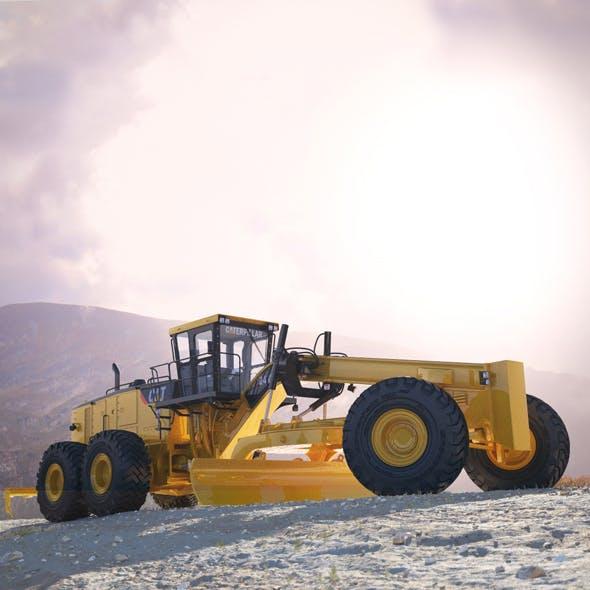 Motor Mining Grader Caterpillar 24M