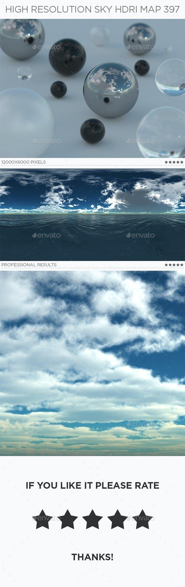 High Resolution Sky HDRi Map 397 - 3DOcean Item for Sale