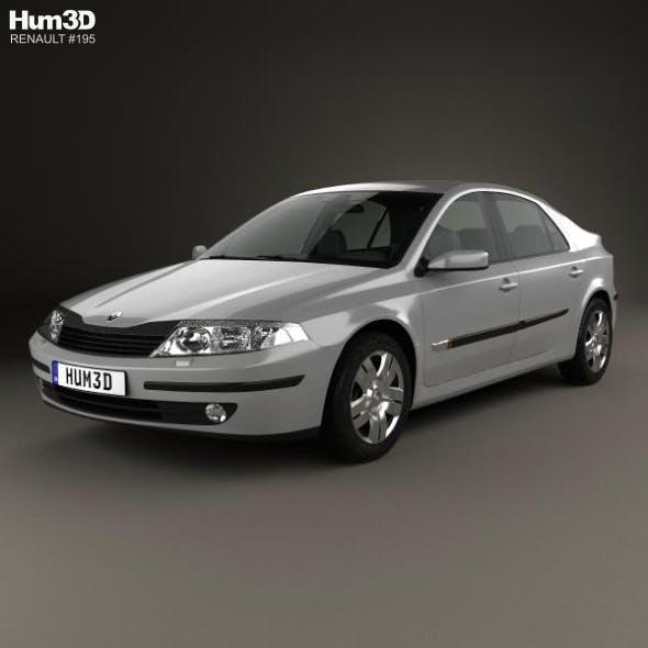 Renault Laguna liftback 2000 - 3DOcean Item for Sale