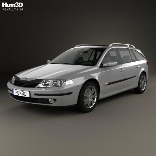 Renault Laguna estate 2000 - 3DOcean Item for Sale