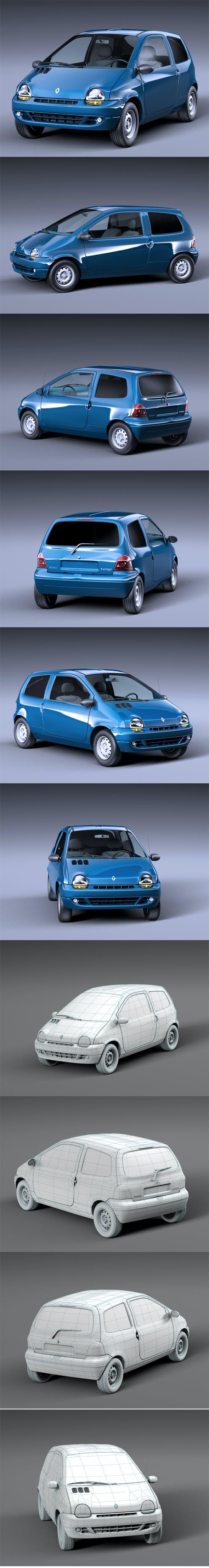Renault Twingo 1993 - 3DOcean Item for Sale