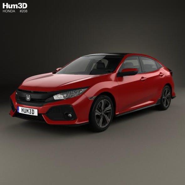Honda Civic Sport hatchback 2016