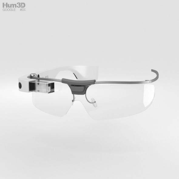Google Glass Enterprise Edition White - 3DOcean Item for Sale