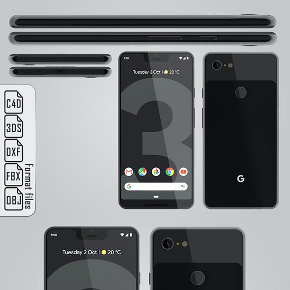 Google Pixel 3 XL Black