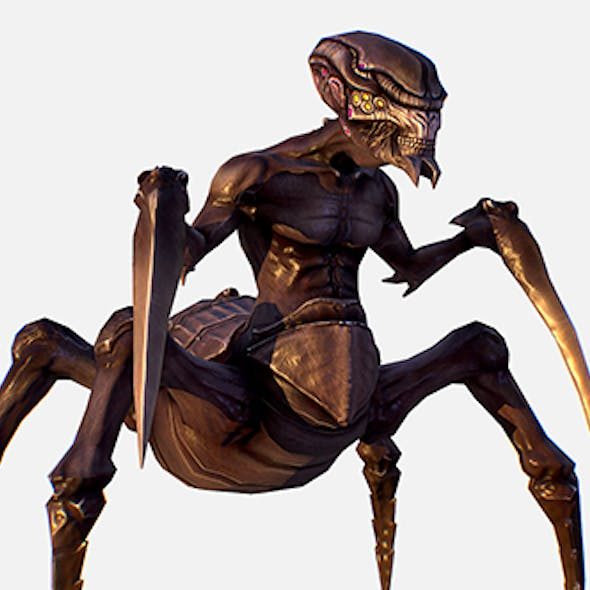 Game Character Arthropod Alien Hornbeam Bug