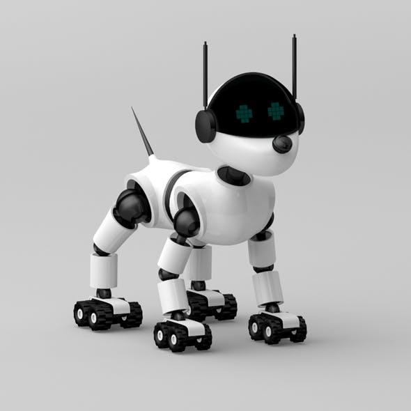 Robot Dog - 3DOcean Item for Sale