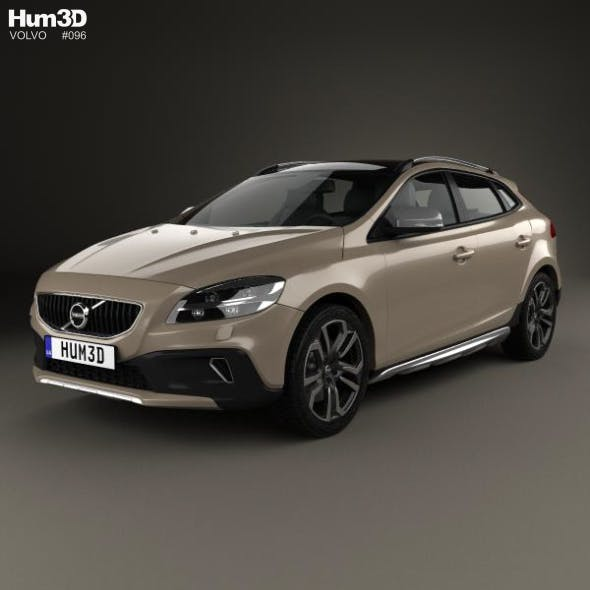 Volvo V40 T5 Cross Country 2016 - 3DOcean Item for Sale