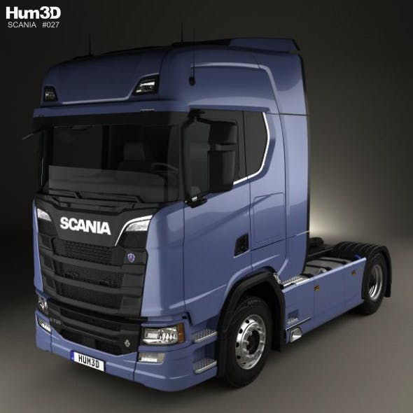Scania S 730 Highline Tractor Truck 2-axle 2016